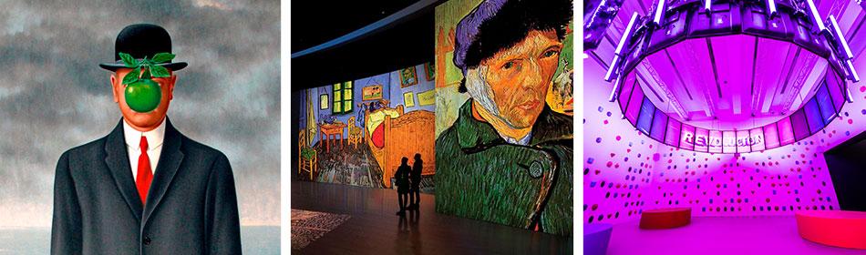 Magritte. Van Gogh. Videojuegos