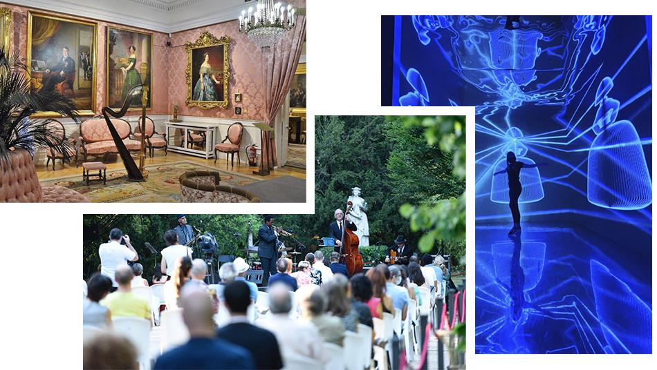 Museos gratis. Jazz en palacio. Velázquez Tech.