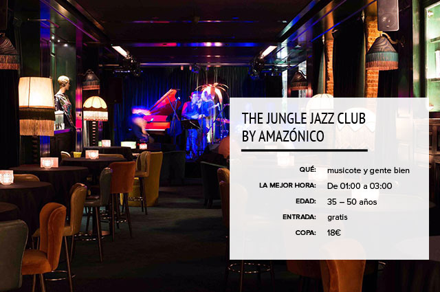 Jungle Jazz Amazonico Madrid
