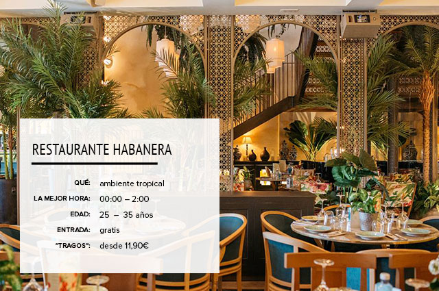 Restaurante Habanera Madrid