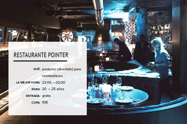 Restaurante Pointer Madrid
