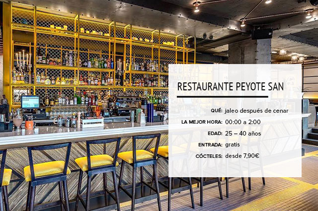 Restaurante Peyote San Madrid