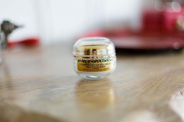 Peeling marino Paquita Ors beauty cara