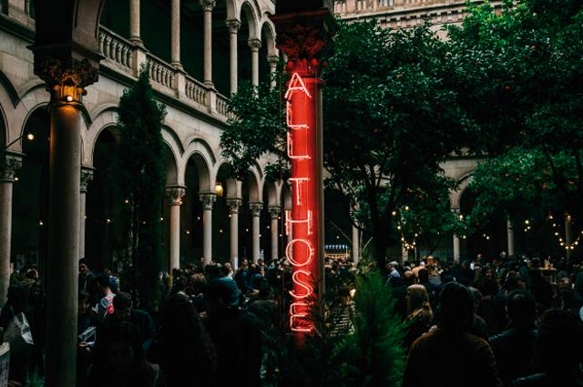Mercadillo de Street Food All Those en Barcelona, edición navidad