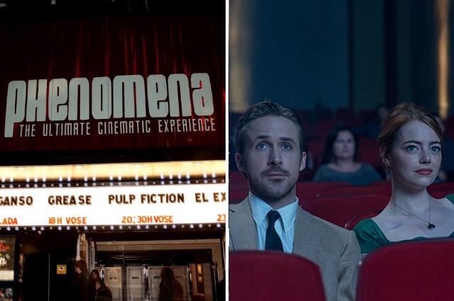 Phenomena Experience cine en Barcelona