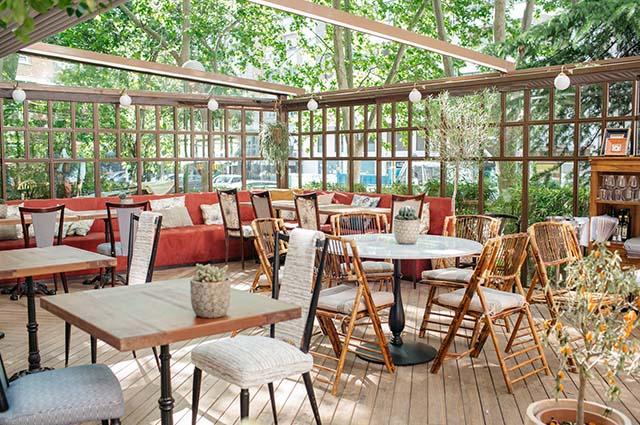 Restaurante graciela la terraza del entretiempo for Restaurantes con terraza madrid