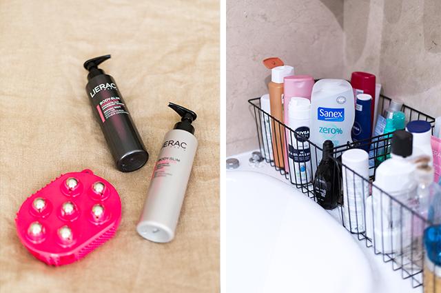Productos de belleza para el baño