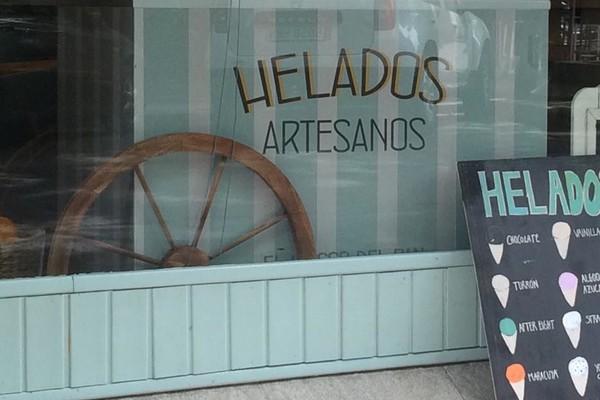 Carrito Helados en Kiosco del Pan