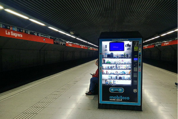 Vending Machine Metro Barcelona