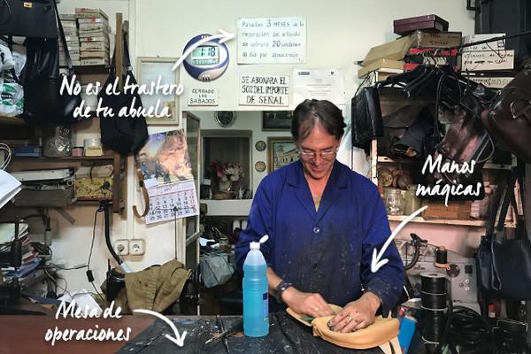 Arreglo de bolsos en Madrid