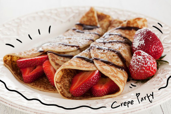 Crepe Party Brasserie Antoinette