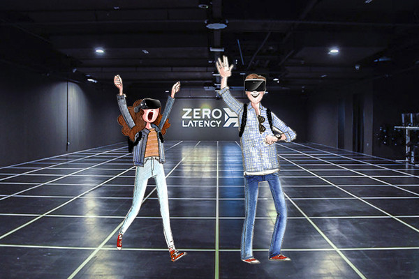 Experiencia de realidad virtual en Zero Latency