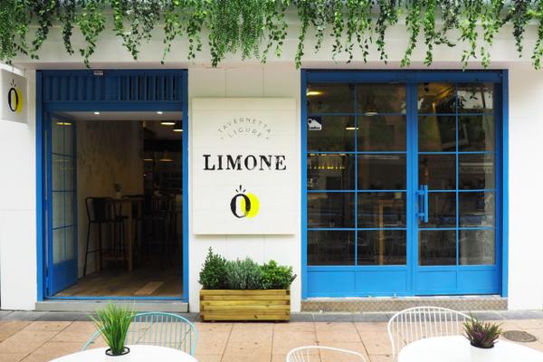 Taberna Limone calle Diego de León