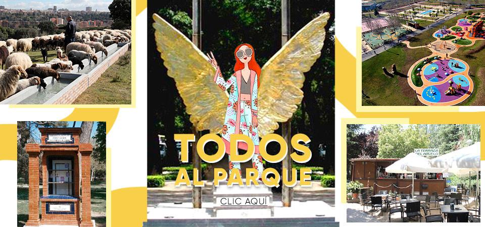 Planes para hacer en el parque en Madrid