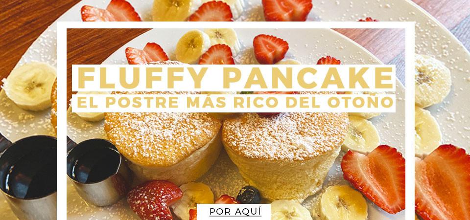 Fluffy pancakes, el postre más rico del otoño