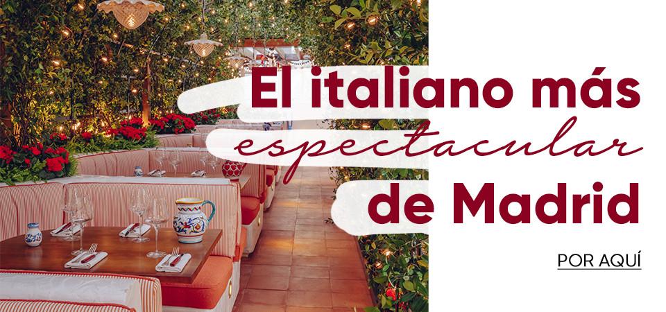 El italiano más espectacular de Madrid
