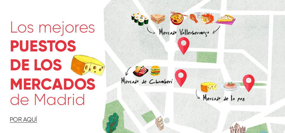 Los mejores puestos de los mercados de Madrid