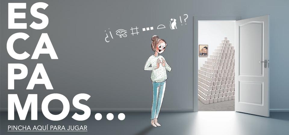 El escape room virtual del apocalipsis higiénico
