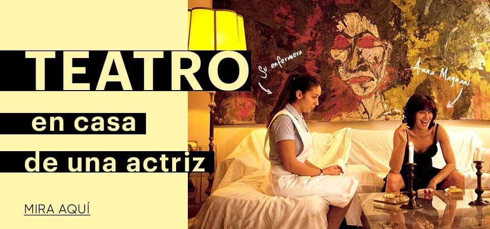 Teatro en casa de una actriz