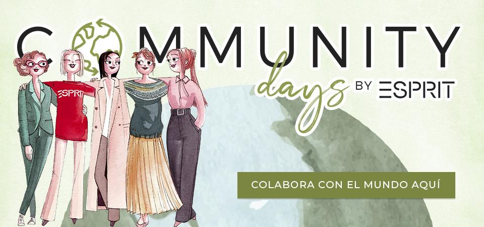 Colabora con el mundo con los Community Days de Esprit