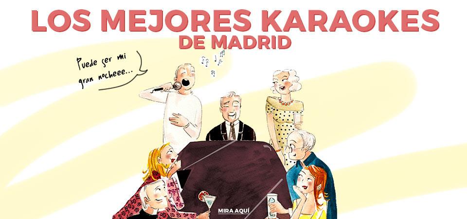 Los mejores karaokes de Madrid