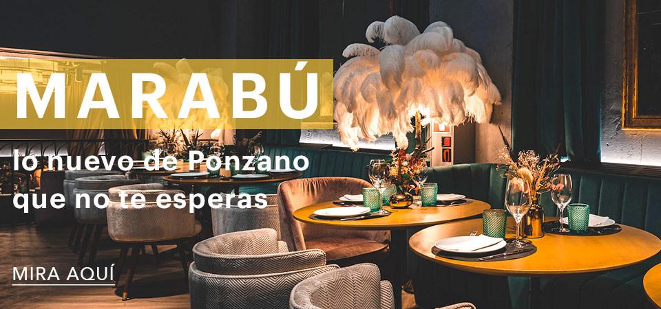 Marabu, lo nuevo de Ponzano que no te esperas