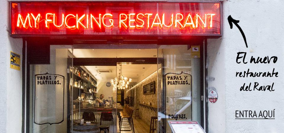 El nuevo restaurante del Raval de Barcelona