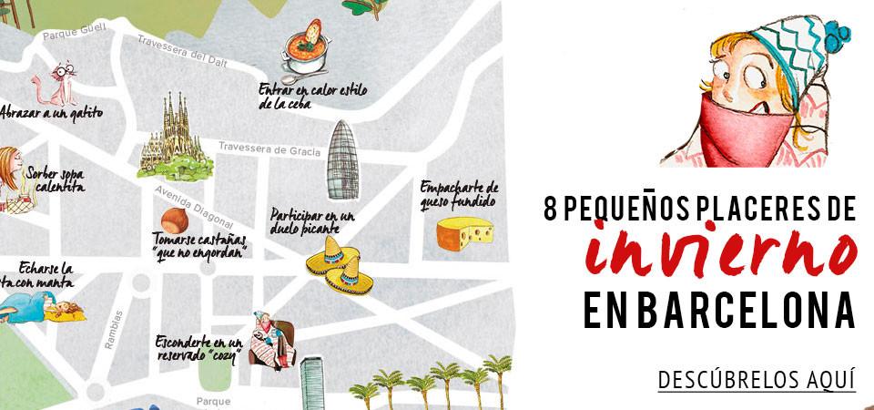 8 pequeños placeres de invierno en Barcelona
