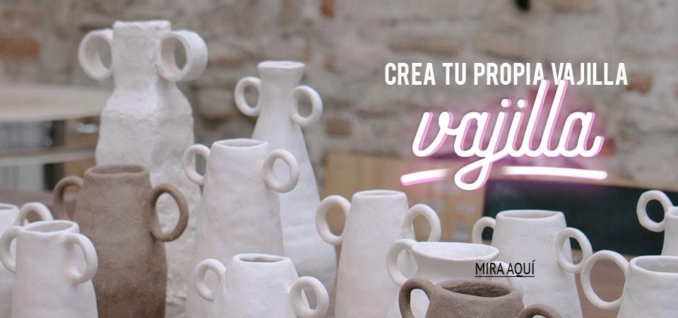 Crea tu propia vajilla en Bonitos Pottery