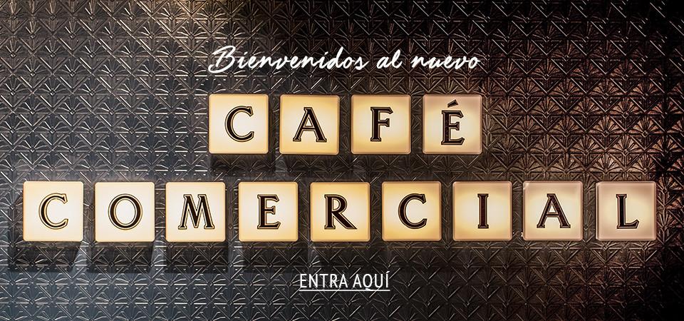 Abre el nuevo Café Comercial en Madrid