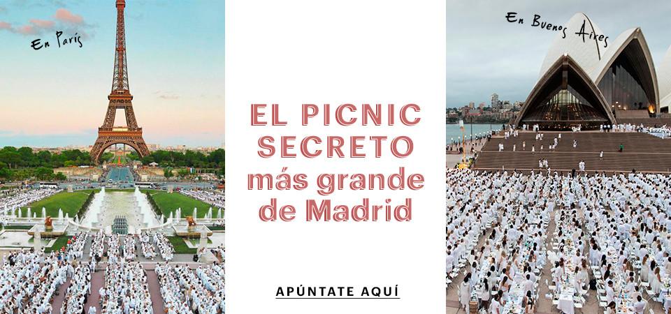 El picnic secreto más grande de Madrid