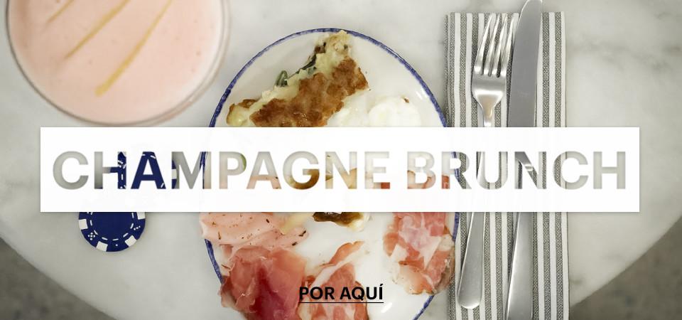 Brunch con Champagne en Madrid