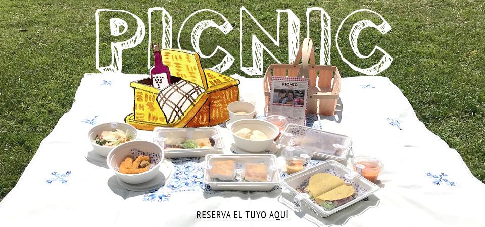 Picnic gourmet en Madrid