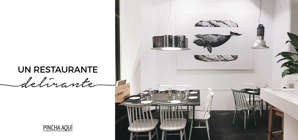 Un restaurante delirante en Madrid