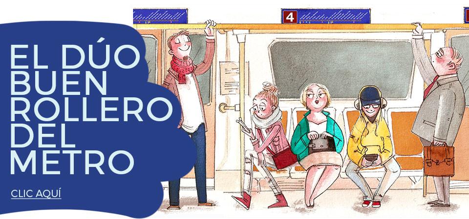 El dúo buenrollero del metro de Madrid