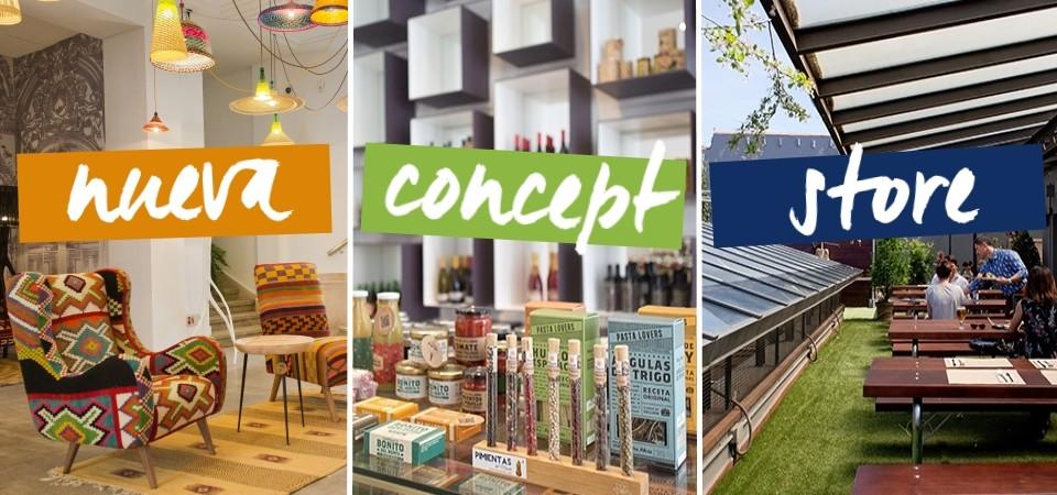 Nueva concept store con azotea en Malasaña