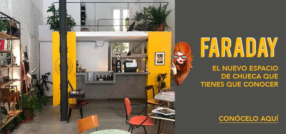 Faraday, el nuevo espacio de Chueca