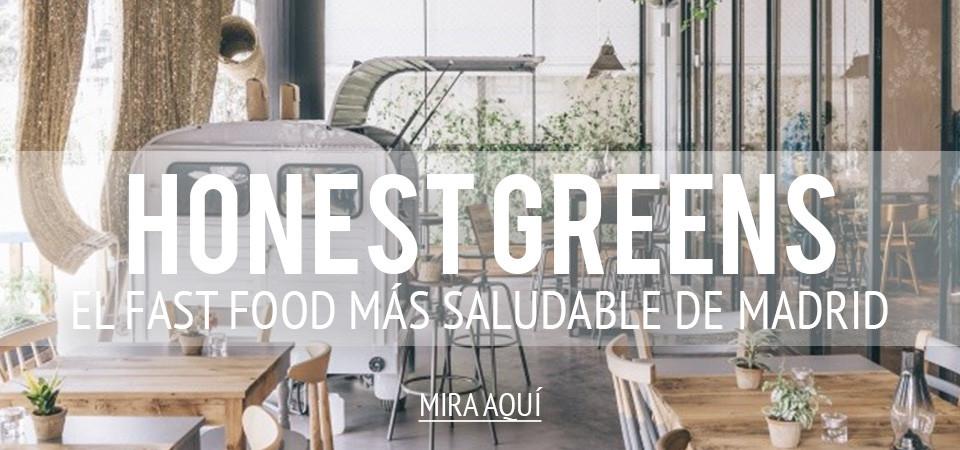 Honest Greens, el fast food más saludable de Madrid