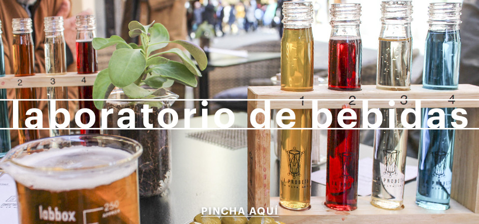 Laboratorio de bebidas en Chueca