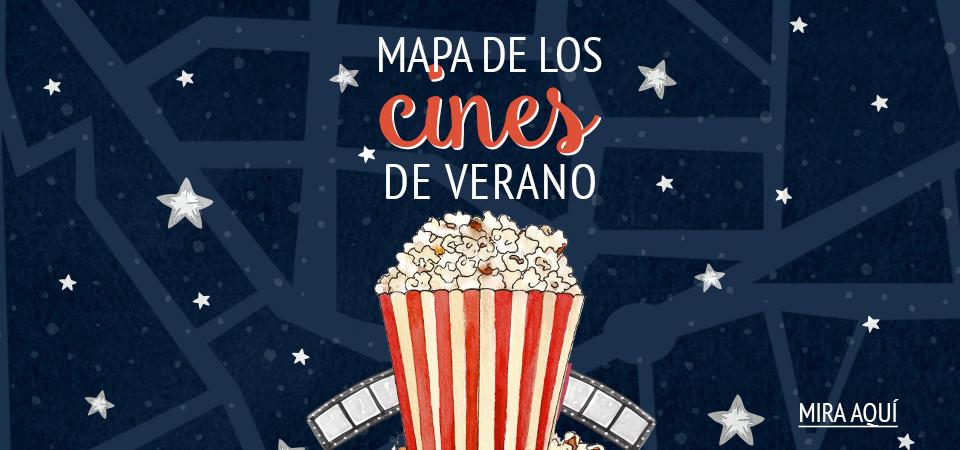 Mapa de los cines de verano de Madrid
