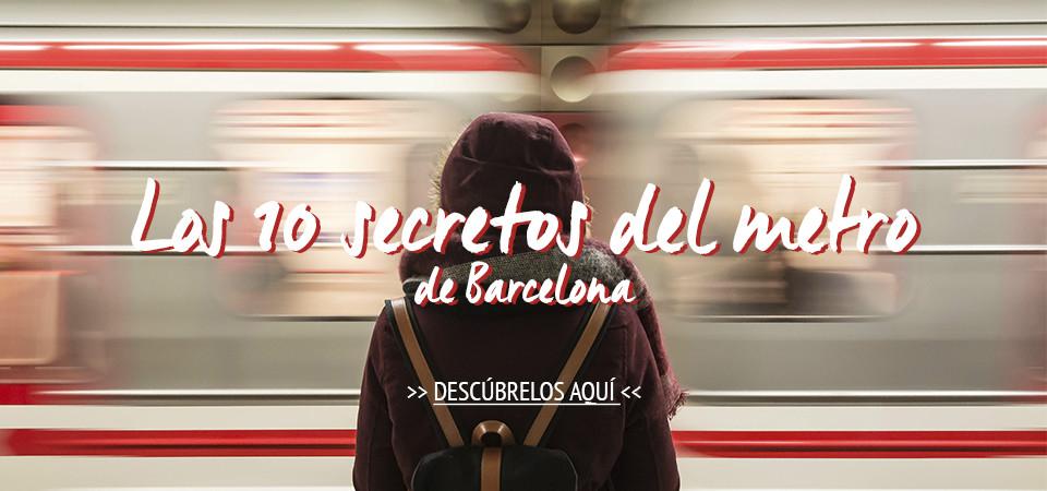 Los 10 secretos del metro de Barcelona