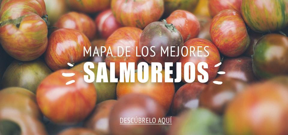 Mapa de los mejores salmorejos de Madrid