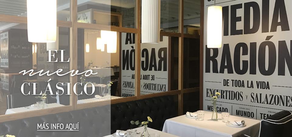 Restaurante Media Ración, el nuevo clásico de Madrid