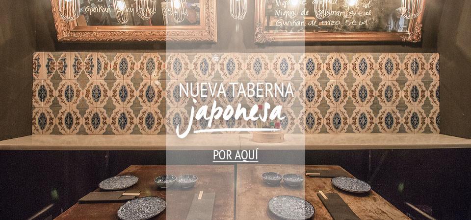 Nueva taberna japonesa en Barcelona