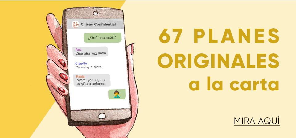 67 planes originales a la carta