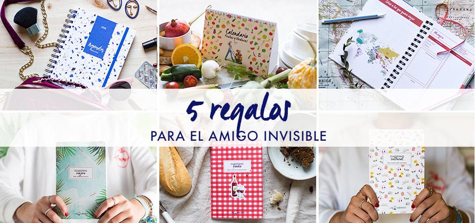 5 regalos de amigo invisible