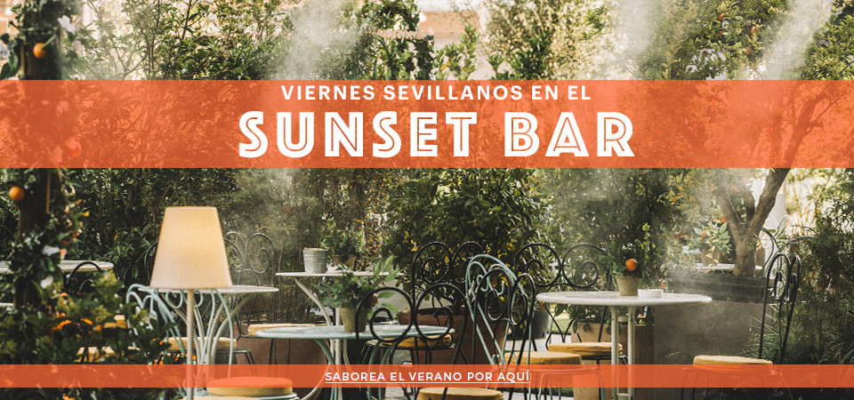 Veranos sevillanos en el Sunset Bar de Tanqueray