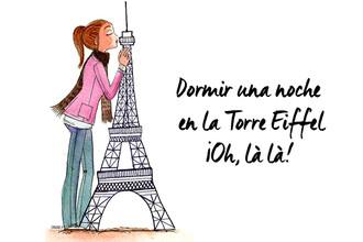 Una noche en la Torre Eiffel