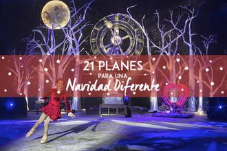 21 planes para una Navidad Diferente en Madrid