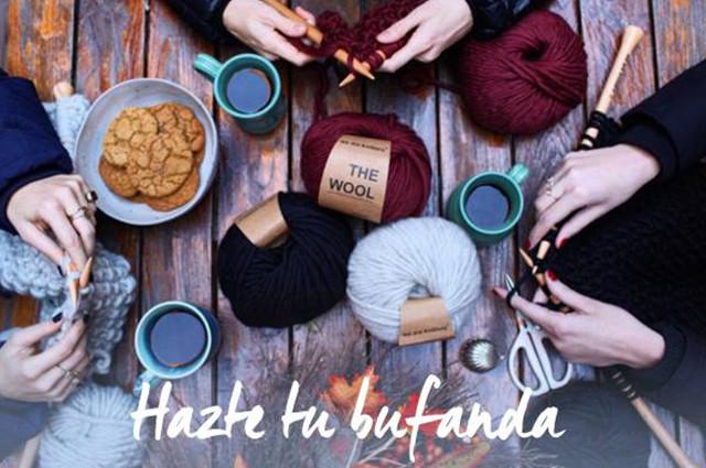 Taller de costura de bufandas